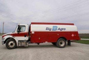 Big B Agro Propane Truck
